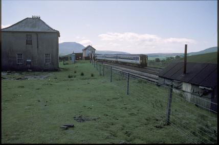 Blea Moor signal-box, 1994.