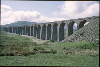 Ribblehead Viaduct, 1994.
