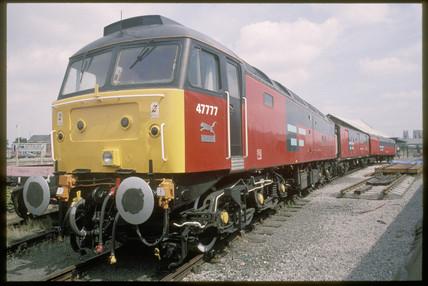 Post Office locomotive, 1994.
