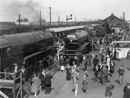 Ilford Railway exhibition, Essex, 1934.