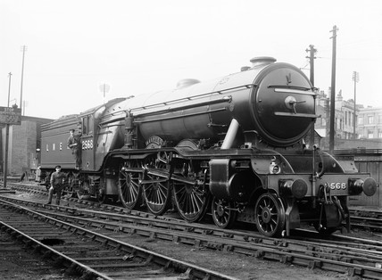 Locomotive number 2568, c 1935.