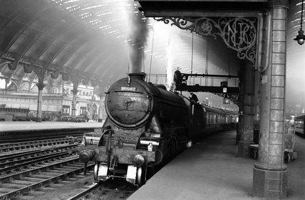 York Station, c 1956.