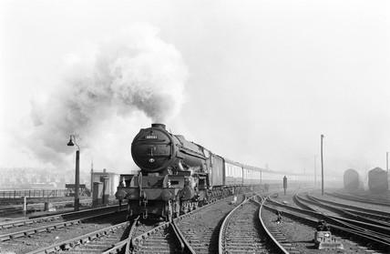 Train at York, 1955.