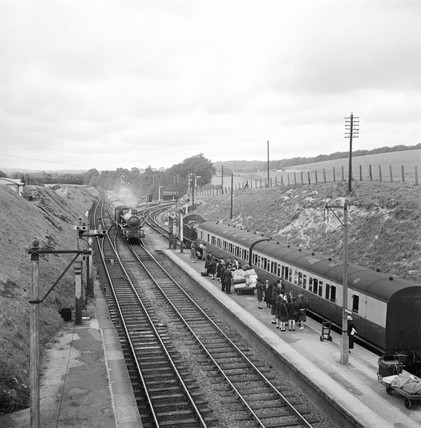 Savernake Station, Wiltshire, 29 July 1938.