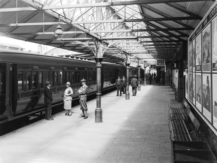 Windermere Station, 1931.