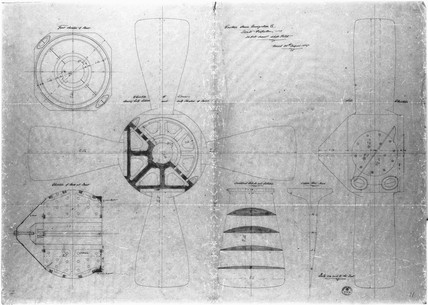 Plan of the 'Great Eastern' steamship engines, c 1853.