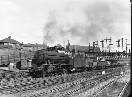 Locomotive number 90609, 1950.