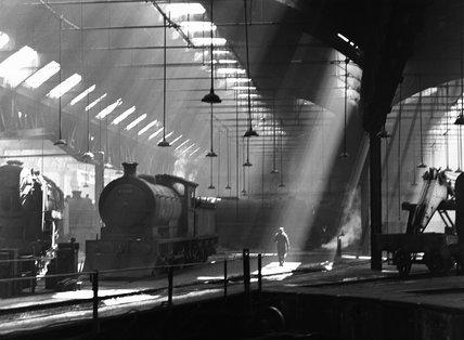 Holbeck engine shed, 1953