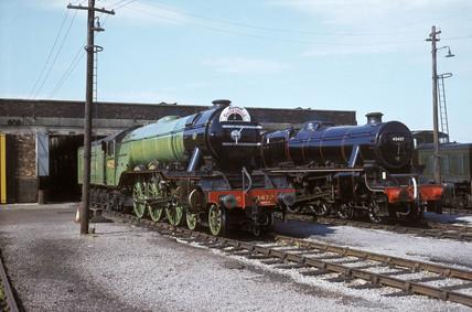 'Flying Scotsman' service locomotive, c 1974.