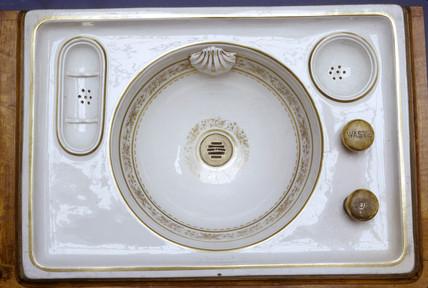 Queen Victoria's sink, c 1962.