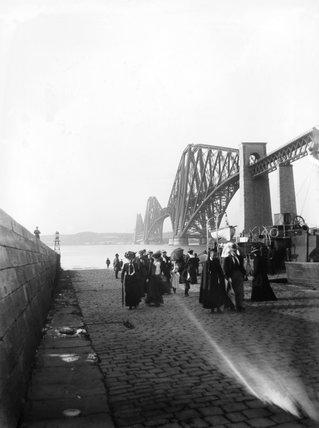 Forth Bridge, c 1902.