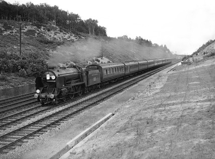 Express train, c 1937.