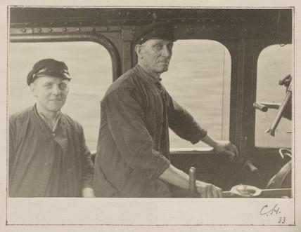 Driver and fireman, 1934.