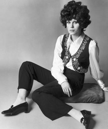 Joanna Lumley, British actress, c 1968.