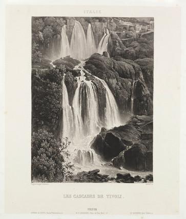 'Les Cascades de Tivoli', c 1841.