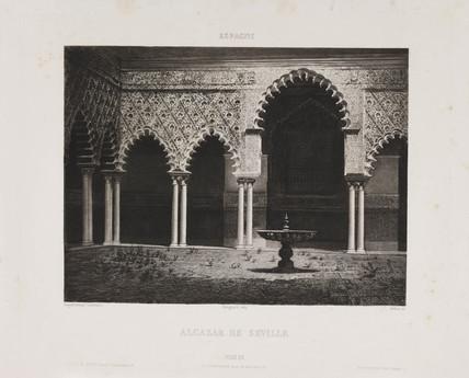 'Alcazar de Seville', c 1841.