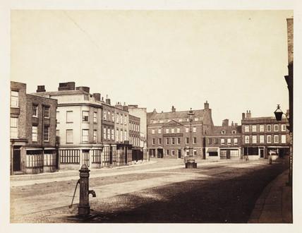 'Wisbech: Market Place', 1857