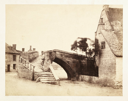'Crowland: The Triangular Bridge', 1859.