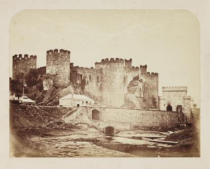 Conway Castle, c 1855.