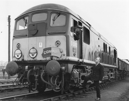 Express freight locomotive no 5082 'Condor', c 1950s?