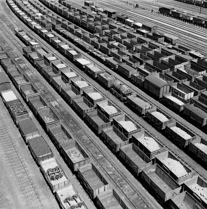 View of Toton sidings, Nottingham, 1952.