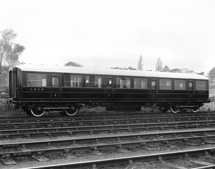 London & North Eastern Railways first class carriage, c 1935.