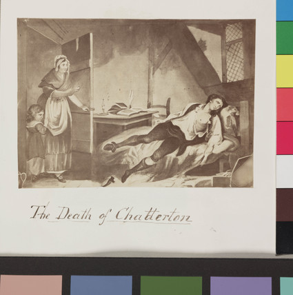 'The Death of Chatterton', c 1860.