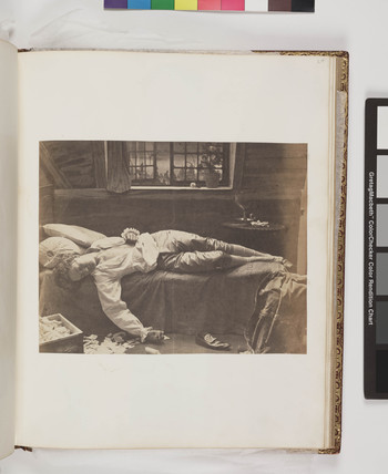 'Death of Chatterton', c 1860.