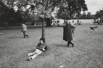 'Regent's Park, London', 1969.