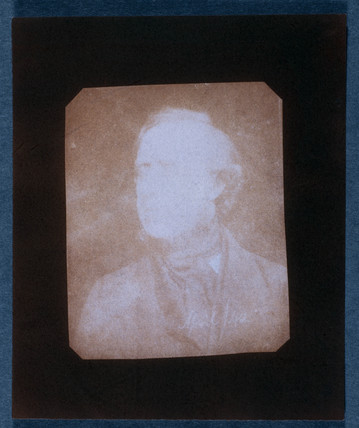 Salted paper print from a calotype negative by William Henry Fox Talbot (1800-1877).