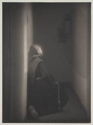 'Vita Mystica' [Monk in cell], c 1900.