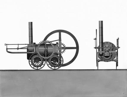 Pen-y-darran locomotive, 1803.