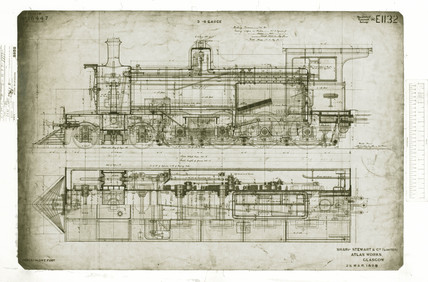 4-8-0 locomotive 1898.
