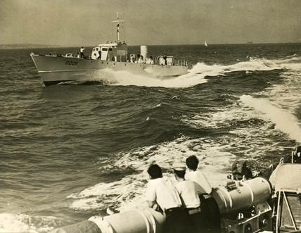 'Brave' class boat, c 1950s.