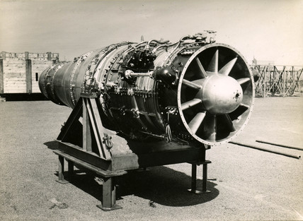 'Sapphire' engine just after testing, 17 May 1948.