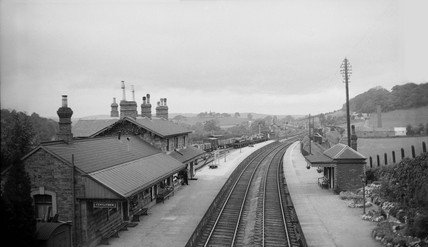 Pontrilas station, Herefordshire, 13 August 1932.