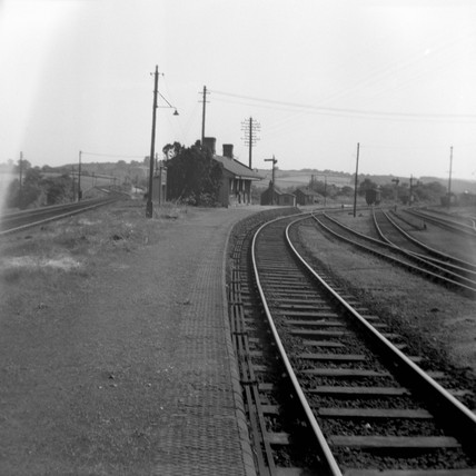 Little Mill Junction station, 5 July 1952.