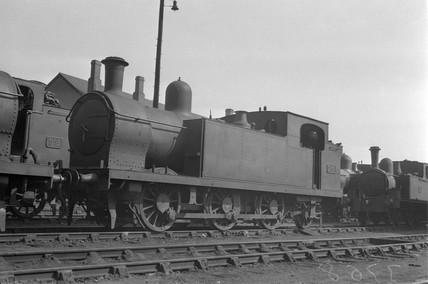 Ex-Barry Rly 0-6-2T locomotive, GWR No 252, 1934.