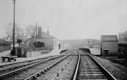 Islip, old signal, 1900.