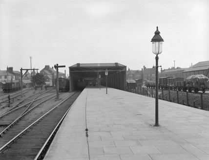 Oxford (Rowley Road) station, 16 August 1919.