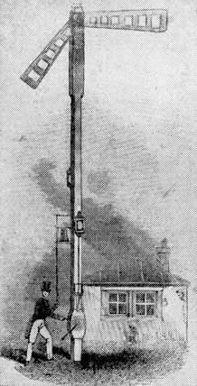Semaphore signals, 1844.