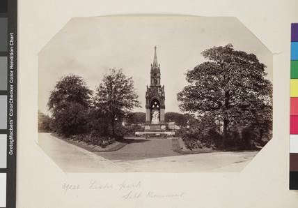 Monument to Titus Salt, Lister Park, Bradford c.1895.