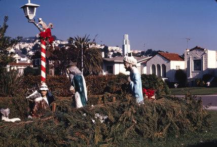 Christmas, San Fransisco, 1971.