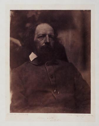 Lord Tennyson, English poet, July 1864.