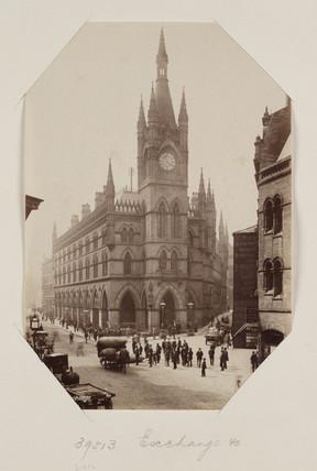 The Wool Exchange, Bradford c1895.