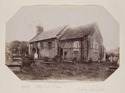 Adel Church c. 1895.