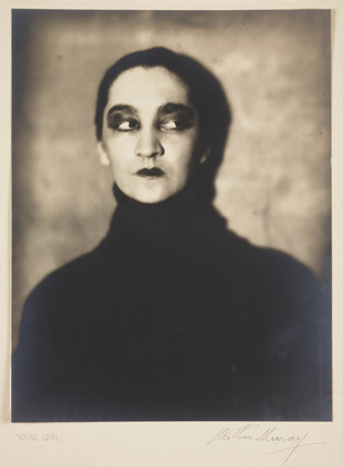 Young woman, c 1928.