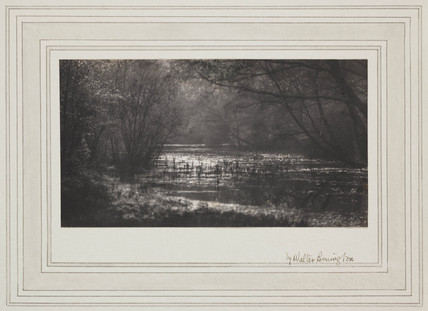 'The Silent Pool', c 1905.