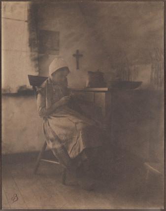 'Knitting', 1903.