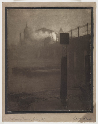 'The Evening Train, Cannon Street', c 1908.